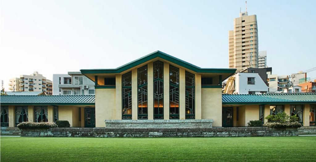 自由学園 フランクロイドライトが設計した重要文化財